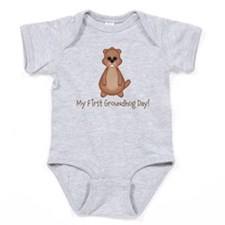 My First Groundhog Day! Baby Bodysuit
