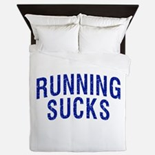 Running Sucks Queen Duvet