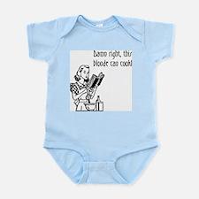 Blonde Can Cook Infant Bodysuit
