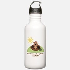 Its Groundhog Day...AGAIN! Water Bottle