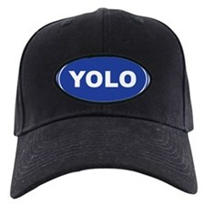 YOLO EURO Oval, You Only Live Once Baseball Hat
