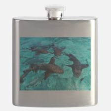 Cool Sharks Flask