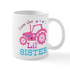Pink Tractor Little Sister Mug