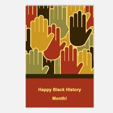 Celebrating Black History Month Postcards (Package
