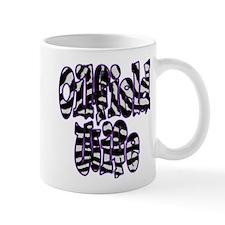 Oilfield Wife Zebra Purple Mugs