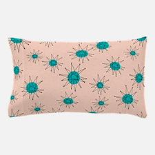 Mid-Century Starburst Pillow Case
