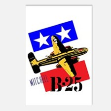B-25 MITCHEL Postcards (Package of 8)