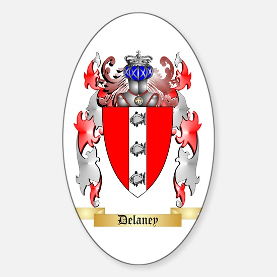 Delaney Sticker (Oval)