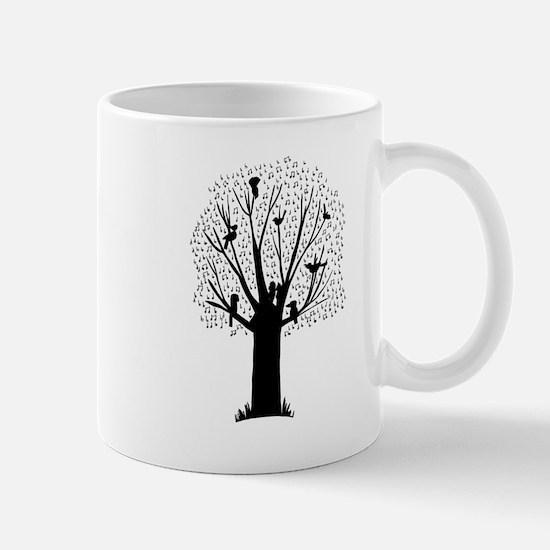 Australian Birds Musical Tree Mugs