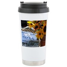 Suzanne's Flowers Travel Mug