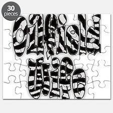 Zebra Oilfield Wife Puzzle