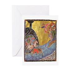 Toros Roslin Armenian Illuminator Greeting Cards
