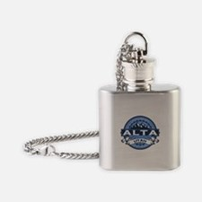 Alta Blue Flask Necklace