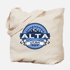 Alta Blue Tote Bag