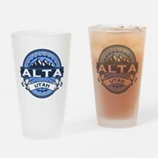 Alta Blue Drinking Glass