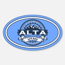 Alta Blue Decal