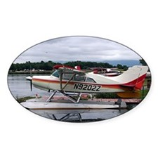 Float plane, Lake Hood, Anchorage,  Decal