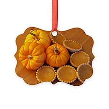 Mini pumpkin pies Ornament