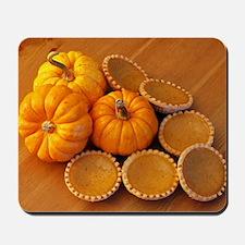 Mini pumpkin pies Mousepad