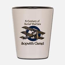 Sopwith Camel Shot Glass