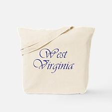 West Virginia Blue Tote Bag
