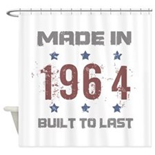 Made In 1964 Shower Curtain
