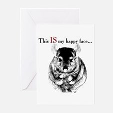 Chinny Happy Greeting Cards (Pk of 10)