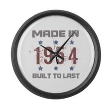 Made In 1954 Large Wall Clock