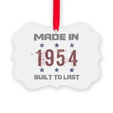 Made In 1954 Ornament