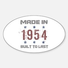 Made In 1954 Decal
