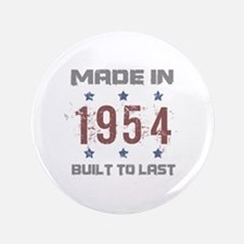"""Made In 1954 3.5"""" Button"""