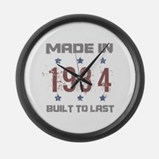 Made In 1934 Large Wall Clock