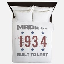 Made In 1934 Queen Duvet