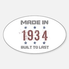 Made In 1934 Decal