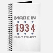 Made In 1934 Journal