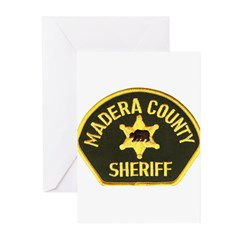 Madera County Sheriff Greeting Cards (Pk of 10