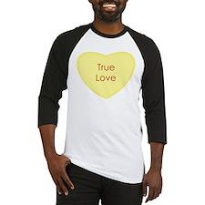 True Love Conversation Heart Baseball Jersey