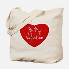 Be My Valentine Conversation Heart Tote Bag
