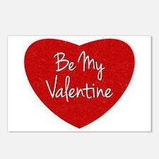 Be My Valentine Conversation Heart Postcards (Pack