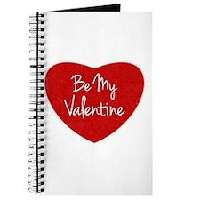 Be My Valentine Conversation Heart Journal