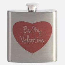 Be My Valentine Conversation Heart Flask