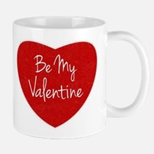 Be My Valentine Conversation Heart Mugs