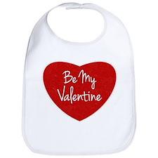 Be My Valentine Conversation Heart Bib