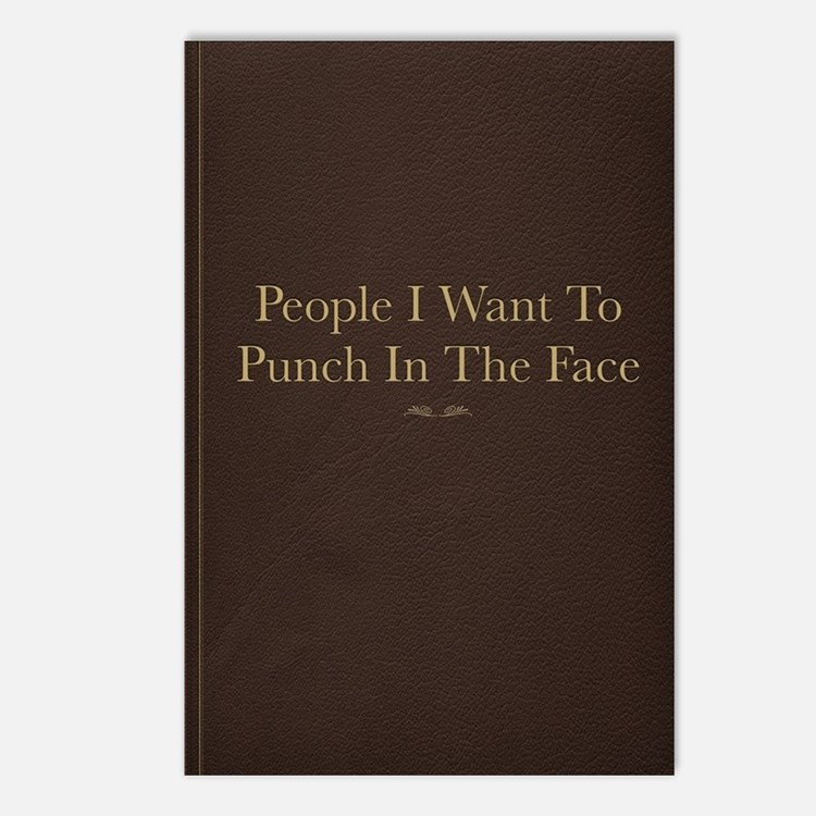 People I Want To Punch In Postcards (Package of 8)