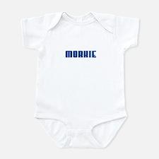 Groovy Blue Morkie Infant Bodysuit