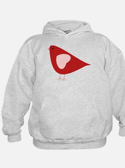 Red Lovebird Hoodie