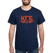 KGB Emblem Red T-Shirt