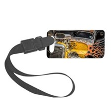 Flamed Beast Luggage Tag
