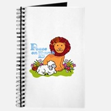 Lion & Lamb Peace On Earth Journal