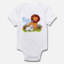 Lion & Lamb Peace On Earth Infant Bodysuit